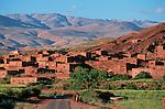 Vallée du Dadès Grand sud marocain. Maroc