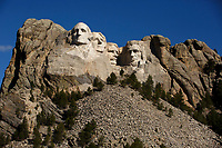 Mount Rushmore National Memorial is pictured in South Dakota on Sunday, May 21, 2017. (Photo by James Brosher)