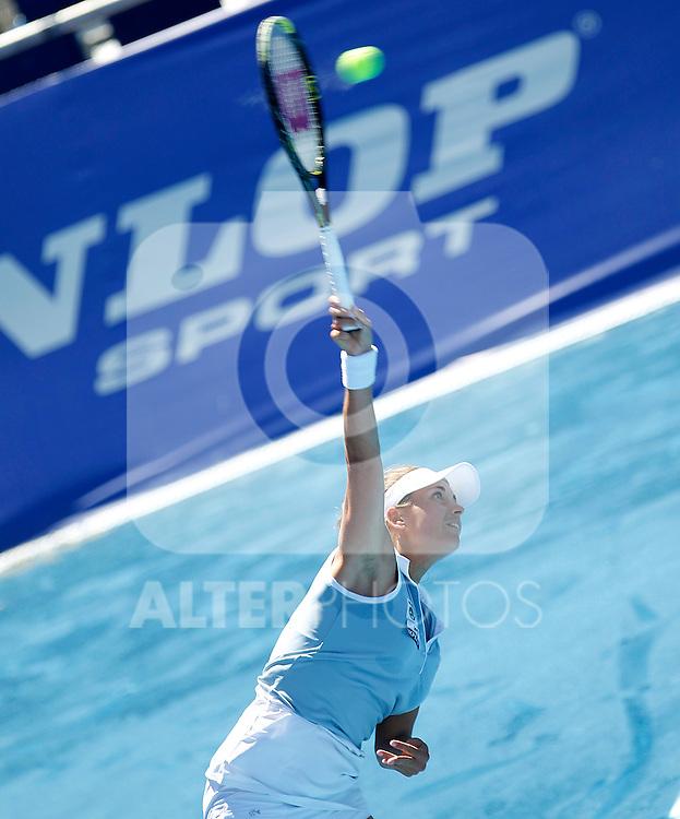 Petra Cetkovska during Madrid Open Tennis 2012 Match.May, 9, 2012(ALTERPHOTOS/ALFAQUI/Acero)