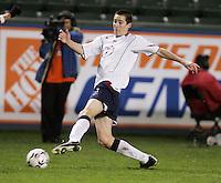 Sacha Kljestan, USA over Trinidad, 6-1, Wednesday, Jan. 12, 2005, in Carson, California.