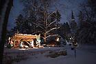 Nativity scene at the Grotto