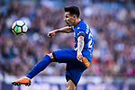 Hernan Arsenio Perez of Deportivo Alaves in action during the La Liga 2017-18 match between Real Madrid and Deportivo Alaves at Santiago Bernabeu Stadium on February 24 2018 in Madrid, Spain. Photo by Diego Souto / Power Sport Images