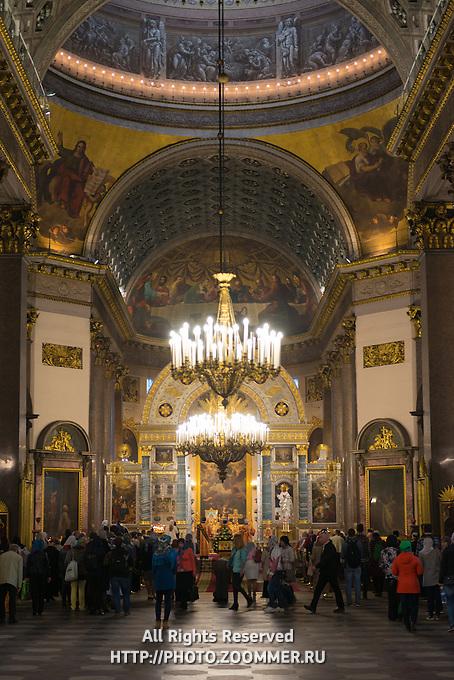 Kazansky Cathedral Interior, Saint Petersburg