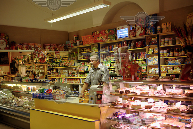 A Polish delicatessen in Hammersmith, London. There is a large Polish community living in West London.