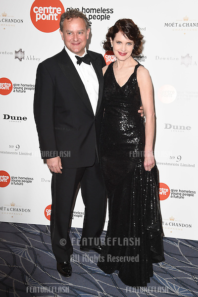 Hugh Bonneville and Elizabeth McGovern arrives for The Downton Abbey Ball 2015 in aid of Centrepoint charity at the Savoy Hotel, London. 30/04/2015 Picture by: Steve Vas / Featureflash