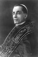 BNPS.co.uk (01202 558833)<br /> Pic: Pen&Sword/BNPS<br /> <br /> Pictured: Pope Benedict XV (1854–1922).<br /> <br /> Previously unseen accounts of the First World War Christmas Day truce from the German side have come to light over 100 years on.<br /> <br /> British historian Anthony Richards has pored over hundreds of German diaries to shed new light on the temporary ceasefire in 1914.<br /> <br /> The fascinating accounts include one by a soldier who described the truce as a 'miracle' and called enemy troops his 'brothers'.
