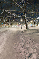 Prospect Park, Brooklyn - Snow Scenes