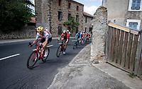 Jasper Stuyven (BEL/Trek-Segafredo) in the breakaway<br /> <br /> Stage 9: Saint-Étienne to Brioude(170km)<br /> 106th Tour de France 2019 (2.UWT)<br /> <br /> ©kramon