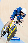 Thomas Denis of the France team competes in the Men's Individual Pursuit - Qualifying as part of the 2017 UCI Track Cycling World Championships on 14 April 2017, in Hong Kong Velodrome, Hong Kong, China. Photo by Chris Wong / Power Sport Images
