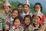 Hani children, Yunnan, China
