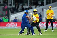 Roelof Van Der Merve, London Spirit pulls through mid wicket during London Spirit Men vs Trent Rockets Men, The Hundred Cricket at Lord's Cricket Ground on 29th July 2021