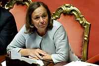 Minister of Home Affairs Luciana Lamorgese<br /> Rome September 10th 2019. Senate. Discussion and Trust vote at the new Government. <br /> Foto  Samantha Zucchi Insidefoto