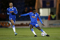 Kwame Poku of Colchester United during Colchester United vs Swindon Town, Sky Bet EFL League 2 Football at the JobServe Community Stadium on 28th January 2020