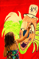 The annual Festival in the Park, held in Freedom Park in Charlotte, NC, attracts thousands of visitors when its held each September. Photo is from 2009 event. The five-day event is organized by the not-for-profit organization Festival in the Park. Exhibiting artists compete for ribbons and cash prizes via a juried art process. This year, artists, painters, scupltors, photographers, designers, quilters and crafters from more than 21 states participated in the arts fair. The community arts event  also includes artwork for purchase.