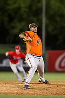 AZL Giants relief pitcher Joey Marciano (65) delivers a pitch during a game against the AZL Angels on July 9, 2017 at Diablo Stadium in Tempe, Arizona. AZL Giants defeated the AZL Angels 8-4. (Zachary Lucy/Four Seam Images)