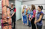 Phil Wood, Sochi 2014.<br /> Team Canada arrives at the airport in Sochi for the Sochi 2014 Paralympic Winter // Équipe Canada arrive à l'aéroport de Sotchi pour Sochi 2014 Jeux paralympiques d'hiver. 04/03/2014.