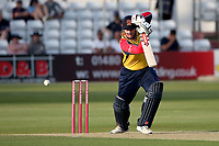 Simon Harmer in batting action for Essex during Essex Eagles vs Sussex Sharks, Vitality Blast T20 Cricket at The Cloudfm County Ground on 15th June 2021