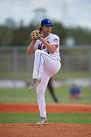 Bryce Cunningham (34) during the WWBA World Championship at Lee County Player Development Complex on October 10, 2020 in Fort Myers, Florida.  Bryce Cunningham, a resident of Headland, Alabama who attends Headland High School, is committed to Vanderbilt.  (Mike Janes/Four Seam Images)