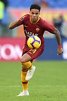 Justin Kluivert of AS Roma in action during the Serie A 2018/2019 football match between AS Roma and UC Sampdoria at stadio Olimpico, Roma, November, 11, 2018 <br />  Foto Andrea Staccioli / Insidefoto