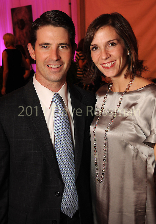 Tim and Alicia Ross at the first night of Fashion Houston at the Wortham Theater Monday Oct. 10,2011.(Dave Rossman/For the Chronicle)