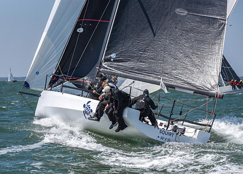 Four Cape31's will competing this coming weekend on the Solent, including Squirt Photo: Warsash Spring Series