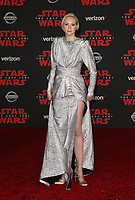 LOS ANGELES, CA - DECEMBER 9: Gwendoline Christie at the World Premiere of Lucasfilm's Star Wars: The Last Jedi at The Shrine Auditorium in Los Angeles, California on December 9, 2017.  Credit: Faye Sadou/MediaPunch /NortePhoto.com NORTEPHOTOMEXICO