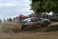 5th June 2021; Monte Acuto, Sardinia; WRC rally of Italia Sardinia; Elfyn Evans-Toyota Yaris WRC