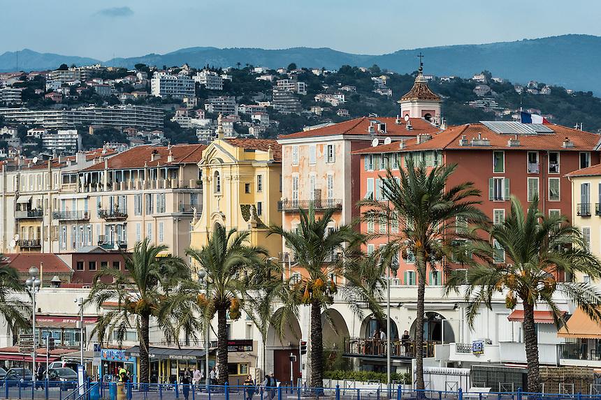 Quai de Etats-Unis, Nice, French Riviera, Côte d'Azur, France, Europe