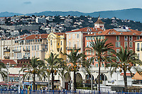 Quai de Etats-Unis, Nice, French Riviera, Côte d'Azur, France, Europe