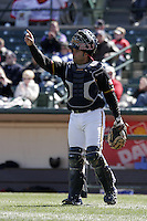 Rochester Red Wings Shawn Wooten during an International League game at Frontier Field on April 9, 2006 in Rochester, New York.  (Mike Janes/Four Seam Images)