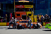 #19: Daniel Suarez, Joe Gibbs Racing, Toyota Camry ARRIS makes a pit stop, Sunoco