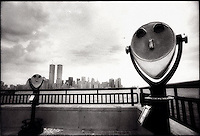 View of Manhattan from Liberty State Park<br />