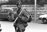 - Jerusalem, border policeman of Ethiopian origin (Falascià)....- Gerusalemme, agente della polizia di frontiera di origine etiope (Falascià)