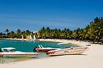 MUS, Mauritius, Grand Port, bei Mahébourg, Shandrani Hotel - Strand | MUS, Mauritius, Grand Port, near Mahébourg, Shandrani Hotel - beach