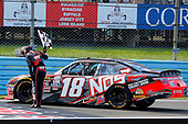 NASCAR XFINITY Series<br /> Zippo 200 at The Glen<br /> Watkins Glen International, Watkins Glen, NY USA<br /> Saturday 5 August 2017<br /> Kyle Busch, NOS Rowdy Toyota Camry celebrates his win <br /> World Copyright: Russell LaBounty<br /> LAT Images