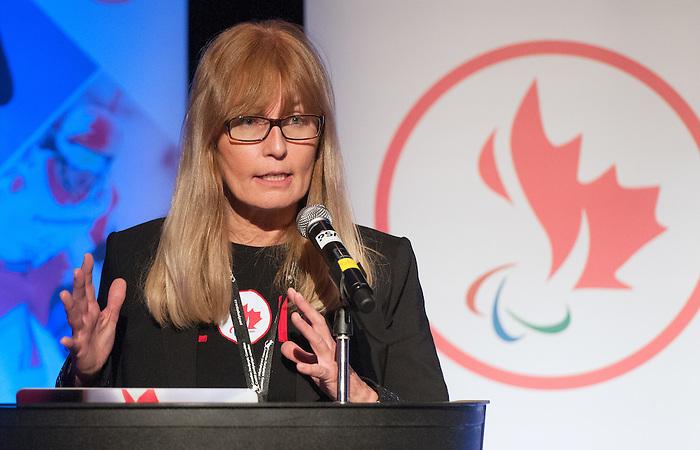Karen O'Neill, Sochi 2014.<br /> Highlights from the Celebration of Excellence Paralympic Ring Reception in Calgary // Faits saillants de la réception de l'anneau paralympiques Célébration de l'excellence à Calgary. 05/06/2014.