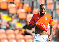 Blackpool's Kyle Vassell<br /> <br /> Photographer Kevin Barnes/CameraSport<br /> <br /> Football - The EFL Sky Bet League Two - Blackpool v Exeter City - Saturday 6th August 2016 - Bloomfield Road - Blackpool<br /> <br /> World Copyright © 2016 CameraSport. All rights reserved. 43 Linden Ave. Countesthorpe. Leicester. England. LE8 5PG - Tel: +44 (0) 116 277 4147 - admin@camerasport.com - www.camerasport.com