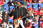 December 30, 2016:  William King from The Commodores performing at halftime of the AutoZone Liberty Bowl inside Liberty Bowl Memorial Stadium in Memphis, Tennessee. ©Justin Manning/Eclipse Sportswire/Cal Sport Media