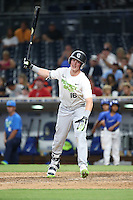 Cash Case (16) of the East Team bats against the West Team during the Perfect Game All American Classic at Petco Park on August 14, 2016 in San Diego, California. West Team defeated the East Team, 13-0. (Larry Goren/Four Seam Images)
