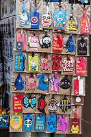 Humorous Luggage Tags, Melaka, Malaysia.