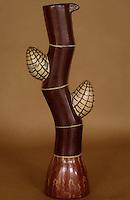 Amérique/Amérique du Sud/Pérou/Lima : Musée National d'Athropologie et d'Archéologie - Vase représentant un épi de maïs