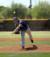 Cole Ragans - Texas Rangers 2021 spring training (Bill Mitchell)