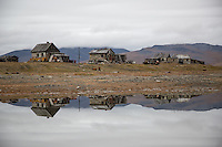 The tiny hamlet of Doubtful on the southern side of Wrangel Island in the Russian Arctic