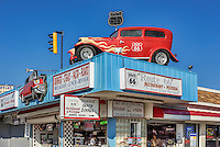 Route 66 retro restaurant on the Wildwood boardwalk.