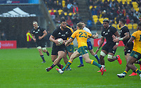 NZ's Tyrel Lomax in action during the Bledisloe Cup rugby union match between the New Zealand All Blacks and Australia Wallabies at Sky Stadium in Wellington, New Zealand on Sunday, 11 October 2020. Photo: Dave Lintott / lintottphoto.co.nz