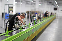 Pictured: Jack Appleby on the assembly line Monday 15 August 2016<br />