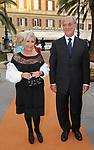 ANNA FENDI  CON GIUSEPPE TEDESCO<br /> CELEBRAZIONE DEI 60 ANNI DELLO STATO D'ISRAELE TEATRO DELL'OPERA ROMA 2008