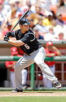 15 June 2006: Matt Holliday, left fielder for the Colorado Rockies, in action against the Washington Nationals at RFK Stadium, in Washington, DC. The Rockies defeated the Nationals, 8-1 to sweep the four-game series...Mandatory Photo Credit: Ed Wolfstein Photo...