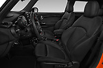Front seat view of 2018 MINI Cooper JCW Door Hatchback Front Seat  car photos