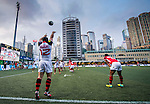 XXX vs XXX during day 2 of the 2014 GFI HKFC Tens at the Hong Kong Football Club on 27 March 2014. Photo by Mike Pickles / Power Sport Images